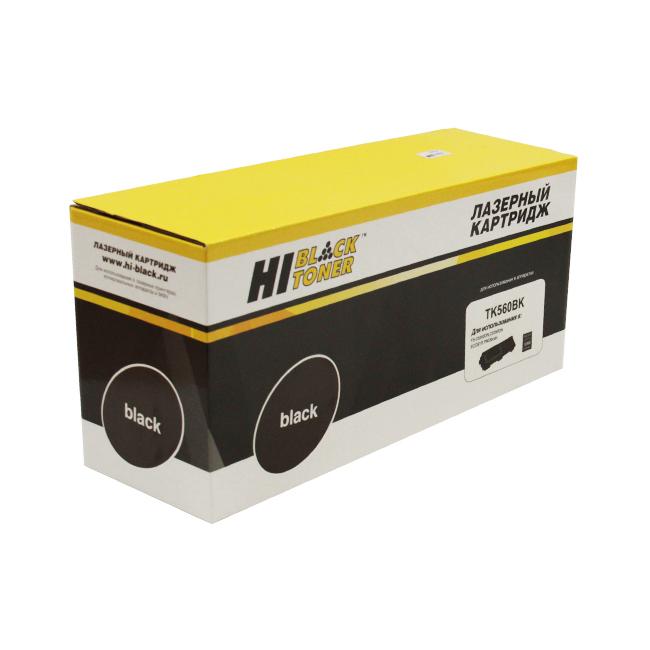 Картридж Kyocera FS-C5300DN/C5350DN (Hi-Black) TK-560, BK, 12K